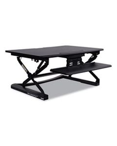 ALEAEWR2B ADAPTIVERGO SIT-STAND LIFTING WORKSTATION, 35.13W X 23.38D X 19.63H,BLACK
