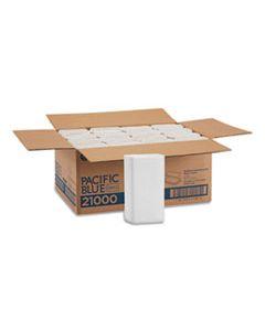 GPC21000 BLUE SELECT MULTI-FOLD 2 PLY PAPER TOWEL, 9 1/5 X 9 2/5, WHITE,125/PK, 16 PK/CT