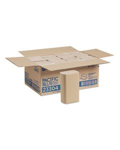 GPC23304 PACIFIC BLUE BASIC M-FOLD PAPER TOWELS, 9.2 X 9.4, BROWN, 250/PACK, 16 PACKS/CARTON