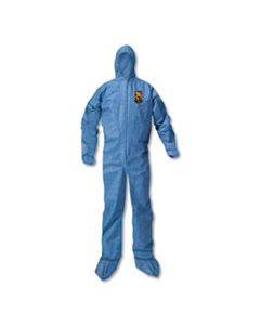 KCC58524 A20 BREATHABLE PARTICLE PROTECTION COVERALLS, X-LARGE, BLUE, 24/CARTON
