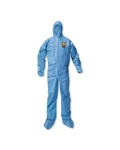 KCC58523 A20 BREATHABLE PARTICLE PROTECTION COVERALLS, LARGE, BLUE, 24/CARTON