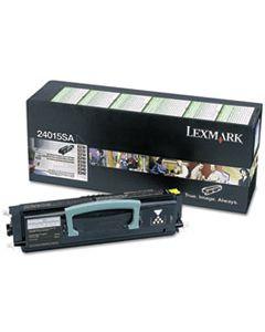 LEX24015SA 24015SA RETURN PROGRAM TONER, 2500 PAGE-YIELD, BLACK