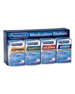 ACM90780 MEDICATION STATION: ASPIRIN, IBUPROFEN, NON ASPIRIN PAIN RELIEVER, ANTACID