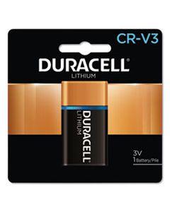 DURDLCRV3B SPECIALTY HIGH-POWER LITHIUM BATTERY, CRV3, 3V