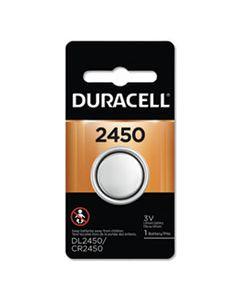 DURDL2450BPK LITHIUM COIN BATTERY, 2450, 36/CARTON