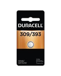 DURD309393 BUTTON CELL BATTERY, 309/393, 1.5V