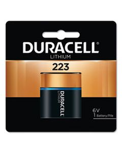 DURDL223ABPK SPECIALTY HIGH-POWER LITHIUM BATTERY, 223, 6V