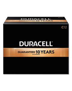 DURMN140012 COPPERTOP ALKALINE C BATTERIES, 12/BOX