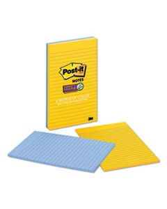 MMM58452SSNY2 PADS IN NEW YORK COLORS, 5 X 8, 45-SHEET, 2/PACK