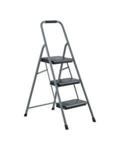 DADBXL436003 BLACK AND DECKER STEEL STEP STOOL, 3-STEP, 200 LB CAPACITY, GRAY
