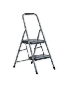 DADBXL436002 BLACK AND DECKER STEEL STEP STOOL, 2-STEP, 200 LB CAPACITY, GRAY