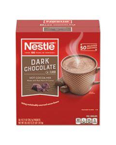 NES70060 HOT COCOA MIX, DARK CHOCOLATE, 0.71 OZ, 50/BOX