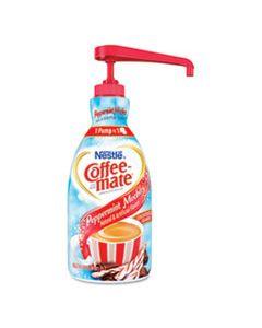 NES29600 LIQUID COFFEE CREAMER, PEPPERMINT MOCHA, 1500ML PUMP BOTTLE
