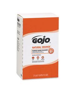 GOJ7255 NATURAL ORANGE PUMICE HAND CLEANER REFILL, CITRUS SCENT, 2000ML, 4/CARTON