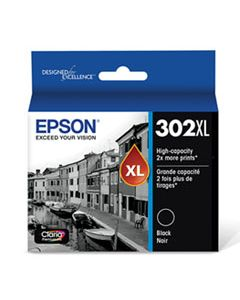 EPST302XL020S T302XL020S (T302XL) CLARIA HIGH-YIELD INK, BLACK