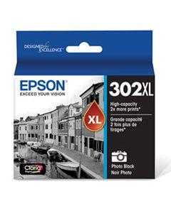EPST302XL120S T302XL120S (T302XL) CLARIA HIGH-YIELD INK, PHOTO BLACK