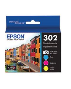 EPST302520S T302520S (T302) CLARIA INK, CYAN; MAGENTA; YELLOW; PHOTO BLACK
