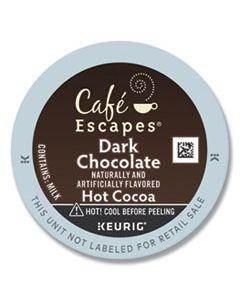 GMT6802CT DARK CHOCOLATE HOT COCOA K-CUPS, 24/BOX, 4 BOX/CARTON