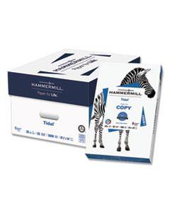 HAM162016CT TIDAL PRINT PAPER, 92 BRIGHT, 20LB, 8.5 X 14, WHITE, 500 SHEETS/REAM, 10 REAMS/CARTON