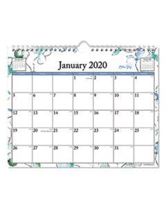 BLS101593 LINDLEY WIREBOUND WALL CALENDAR, 11 X 8 3/4, 2020