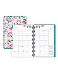 BLS101618 BREAST CANCER AWARENESS WEEKLY/MONTHLY PLANNER, 8 X 5, 2020