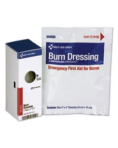 FAO16004 SMARTCOMPLIANCE REFILL BURN DRESSING, 4 X 4, WHITE