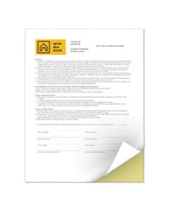 XER3R12420 REVOLUTION DIGITAL CARBONLESS PAPER, 2-PART, 8.5 X 11, CANARY/WHITE, 5, 000/CARTON