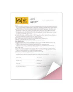 XER3R12421 REVOLUTION DIGITAL CARBONLESS PAPER, 2-PART, 8.5 X 11, PINK/WHITE, 5, 000/CARTON