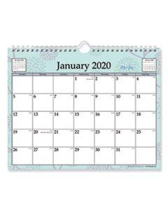 BLS101613 RUE DU FLORE WIREBOUND WALL CALENDAR, 11 X 8 3/4, 2020