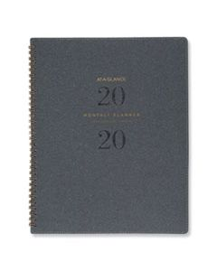AAGYP90045 SIGNATURE COLLECTION HEATHER GRAY PLANNER, 11 X 8 3/4, 2020-2021