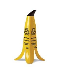 IMPB1001 BANANA WET FLOOR CONES, 11 X 11.15 X 23.25, YELLOW/BROWN/BLACK