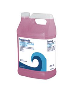 BWK77128EA INDUSTRIAL STRENGTH POT AND PAN DETERGENT, 1 GAL BOTTLE