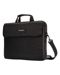 "KMW62567 17"" SIMPLY PORTABLE PADDED LAPTOP SLEEVE, INTERIOR/EXTERIOR POCKETS, BLACK"