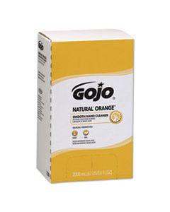 GOJ7250 NATURAL ORANGE SMOOTH LOTION HAND CLEANER, 2000 ML BAG-IN-BOX REFILL, 4/CARTON
