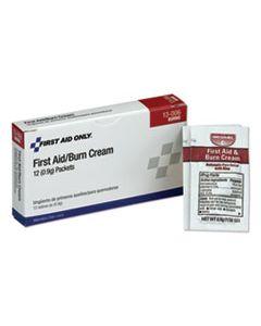 FAO13006 FIRST AID KIT REFILL BURN CREAM PACKETS, 12/BOX