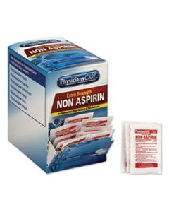ACM90016 NON ASPIRIN ACETAMINOPHEN MEDICATION, TWO-PACK, 50 PACKS/BOX