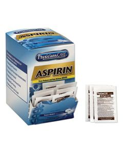 ACM90014 ASPIRIN MEDICATION, TWO-PACK, 50 PACKS/BOX