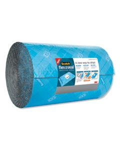 """MMMFS15200 FLEX AND SEAL SHIPPING ROLL, 15"""" X 200 FT, BLUE/GRAY"""