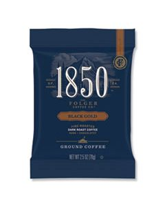 FOL21512 COFFEE FRACTION PACKS, BLACK GOLD, DARK ROAST, 2.5 OZ PACK, 24 PACKS/CARTON
