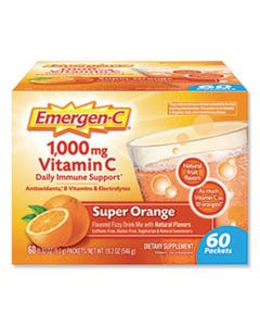 ALA130213 IMMUNE DEFENSE DRINK MIX, ORIGINAL FORMULA, SUPER ORANGE, 0.32 OZ PACKET, 60/PACK