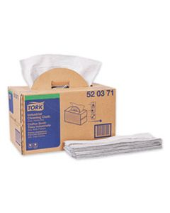 TRK520371 INDUSTRIAL CLEANING CLOTH HANDY BOX, 1-PLY, 14 X 16.9, GRAY, 280/PACK