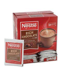 NES25485 HOT COCOA MIX, RICH CHOCOLATE, .71OZ, 50/BOX