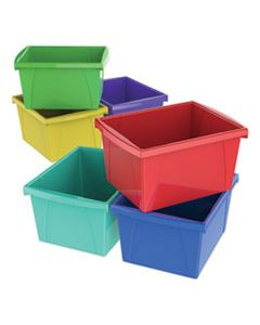 STX61514U06C STORAGE BINS, 10 X 12 5/8 X 7 3/4, 4 GALLON, ASSORTED COLOR, PLASTIC