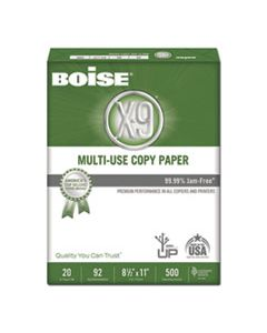 CASOX9001JR X-9 MULTI-USE COPY PAPER, 92 BRIGHT, 20LB, 8.5 X 11, WHITE, 500 SHEETS/REAM, 5 REAMS/CARTON