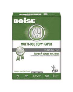 CASOX9001P X-9 MULTI-USE COPY PAPER, 92 BRIGHT, 3-HOLE, 20LB, 8.5 X 11, WHITE, 500 SHEETS/REAM, 10 REAMS/CARTON