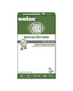 CASOX9004 X-9 MULTI-USE COPY PAPER, 92 BRIGHT, 20LB, 8.5 X 14, WHITE, 500 SHEETS/REAM, 10 REAMS/CARTON