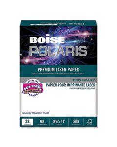 CASBPL0211 POLARIS PREMIUM LASER PAPER, 98 BRIGHT, 28LB, 8.5 X 11, WHITE, 500/REAM