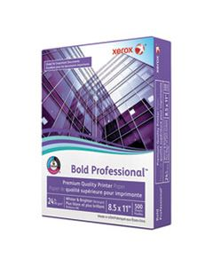 XER3R13038 BOLD PROFESSIONAL QUALITY PAPER, 98 BRIGHT, 24LB, 8.5 X 11, WHITE, 500/REAM