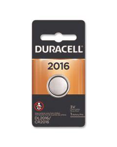 DURDL2016BPK LITHIUM COIN BATTERY, 2016, 1/PACK