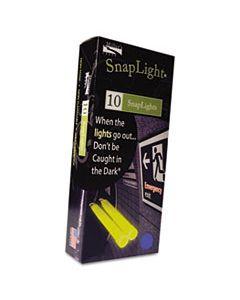 "MLE151846 SNAPLIGHTS, 6""L X 3/4""W, BLUE, 10 EA/BX, 100 EA/CARTON"